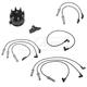 MPETK00001-Dodge Spark Plug Wires  Distributor Cap  & Rotor Kit  Mopar SPC52590AA