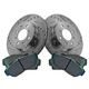 1APBS00465-1990-93 Acura Integra Honda Civic Brake Kit