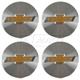 GMWHK00045-Chevy Cobalt Cruze Wheel Center Cap  General Motors OEM 22863942