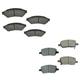 1ABFS02209-Brake Pads  Nakamoto MD1075  MD1093
