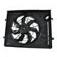 1ARFA00455-Hyundai Elantra Radiator Cooling Fan Assembly