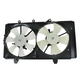 1ARFA00450-2003-05 Dodge Neon Radiator Dual Cooling Fan Assembly