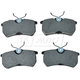 1ABPS02203-2001-07 Ford Focus Brake Pads