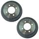 1ABFS02225-Nissan 200SX NX Sentra Brake Drum Pair