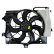 1ARFA00462-2012-13 Hyundai Accent Veloster Radiator Cooling Fan Assembly