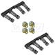 1ASFK00823-Audi A4 Quattro S4 Tie Rod Rear Pair