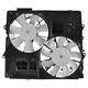 1ARFA00546-2010-14 Cadillac CTS-V Radiator Dual Cooling Fan Assembly