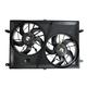 1ARFA00416-Radiator Dual Cooling Fan Assembly
