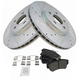 1APBS00493-Chrysler PT Cruiser Brake Kit  Nakamoto MD841  53000-DSZ