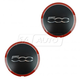 FIWHK00001-2012-14 Fiat 500 Wheel Center Cap Pair  Fiat 68078421AC
