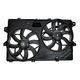 1ARFA00436-2007-13 Ford Edge Lincoln MKX Radiator Dual Cooling Fan Assembly