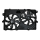 1ARFA00437-Ford Edge Lincoln MKX Radiator Dual Cooling Fan Assembly