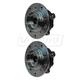 1ASHS00898-BMW Wheel Bearing & Hub Assembly Pair