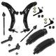 1ASFK02404-Nissan Sentra Steering & Suspension Kit