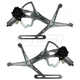 1AWRK00237-Mercedes Benz Window Regulator Pair Front