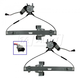 1AWRK00236-Window Regulator Pair Front