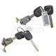1ADRK00131-Honda Civic Odyssey Door Lock Cylinder Pair  Honda 72146-S0X-A51  72145-S0X-A51