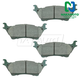 BABPS00013-OE Replacement Brake Pad Set Rear  Beck / Arnley 089-1447