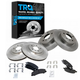 1ABFS02295-2006-11 Buick Lucerne Cadillac DTS Brake Kit