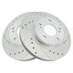 1APBR00222-Infiniti I30 Nissan Maxima Brake Rotor Pair