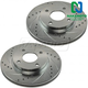 1APBR00221-2000-04 Ford Focus Brake Rotor Pair  Nakamoto 54079-DSZ