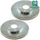 1APBR00219-Brake Rotor Pair