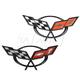 GMBMK00130-Chevy Corvette Emblem Pair  General Motors OEM 19207384  19207385