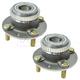 1ASHS00917-Kia Sephia Spectra Wheel Bearing & Hub Assembly Pair