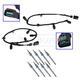 FDEEK00040-Ford Glow Plug & Harness Kit  Motorcraft & Ford 5C3Z-12A690-A  4C2Z-12A690-AB  ZD13