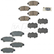 TYBFS00003-2004-10 Toyota Sienna Brake Pads  Toyota OEM 04466-45010  04465-AZ006-TM