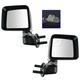 1AMRP01737-2014 Jeep Wrangler Mirror Pair