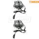 TKSHS00806-2011-17 Jeep Wrangler Wheel Bearing & Hub Assembly Pair