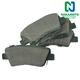 1ABPS02225-Brake Pads  Nakamoto CD1544