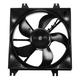 1ARFA00130-Hyundai Accent Radiator Cooling Fan Assembly