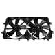 1ARFA00128-2000-02 Mazda 626 Radiator Dual Cooling Fan Assembly