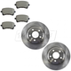 1ABPS00688-Jeep Grand Cherokee Brake Pads Front