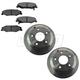 1ABFS02361-2005-06 Pontiac GTO Brake Kit