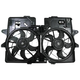 1ARFA00125-2001-04 Ford Escape Mazda Tribute Radiator Dual Cooling Fan Assembly