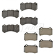 MPBFS00001-2012-15 Jeep Grand Cherokee Brake Pads Pair  Mopar 68144427AB  68144432AA