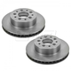 1ABFS02381-1965-82 Chevy Corvette Brake Rotor Pair
