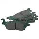 1ABPS02234-Hummer H3 H3T Brake Pads  Nakamoto CD1120