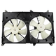 1ARFA00183-Lexus RX300 Toyota Highlander Radiator Dual Cooling Fan Assembly