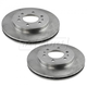 1ABFS02400-2009 Ford F150 Truck Brake Rotor Pair