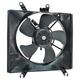 1ARFA00550-2003-05 Kia Rio Rio Cinco Radiator Cooling Fan Assembly