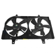 1ARFA00172-Infiniti I35 Nissan Maxima Radiator Dual Cooling Fan Assembly