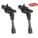 DEERK00035-Mazda Protege Protege5 Ignition Coil Pair  Delphi GN10301