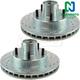 1APBR00248-Brake Rotor Pair