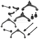 1ASFK02951-2002-04 Jeep Liberty Steering & Suspension Kit