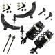 1ASFK03017-2002-06 Nissan Sentra Steering & Suspension Kit