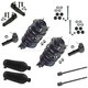 1ASFK03069-Ford Escort Mercury Tracer Steering & Suspension Kit
